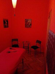 Masszázs szoba